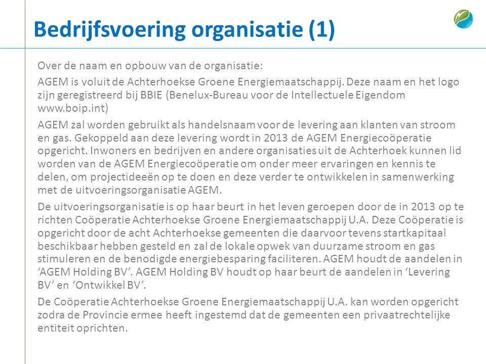 Bedrijfsvoering organisatie (1)