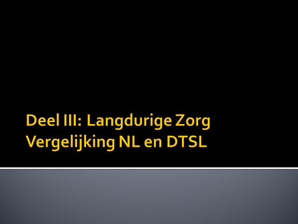 Deel III: Langdurige Zorg Vergelijking NL en DTSL