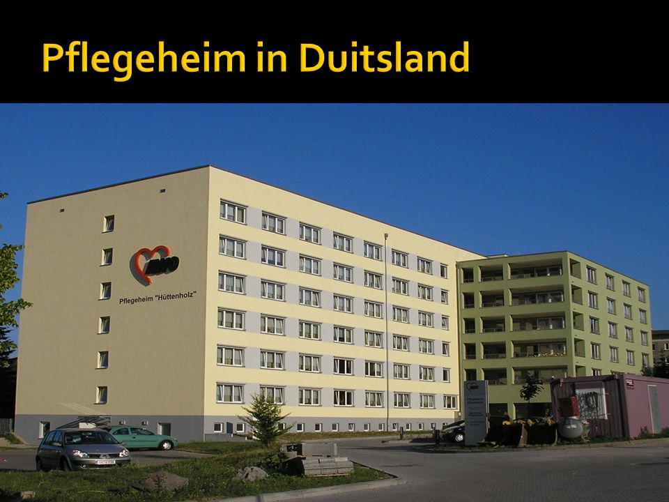 Pflegeheim in Duitsland