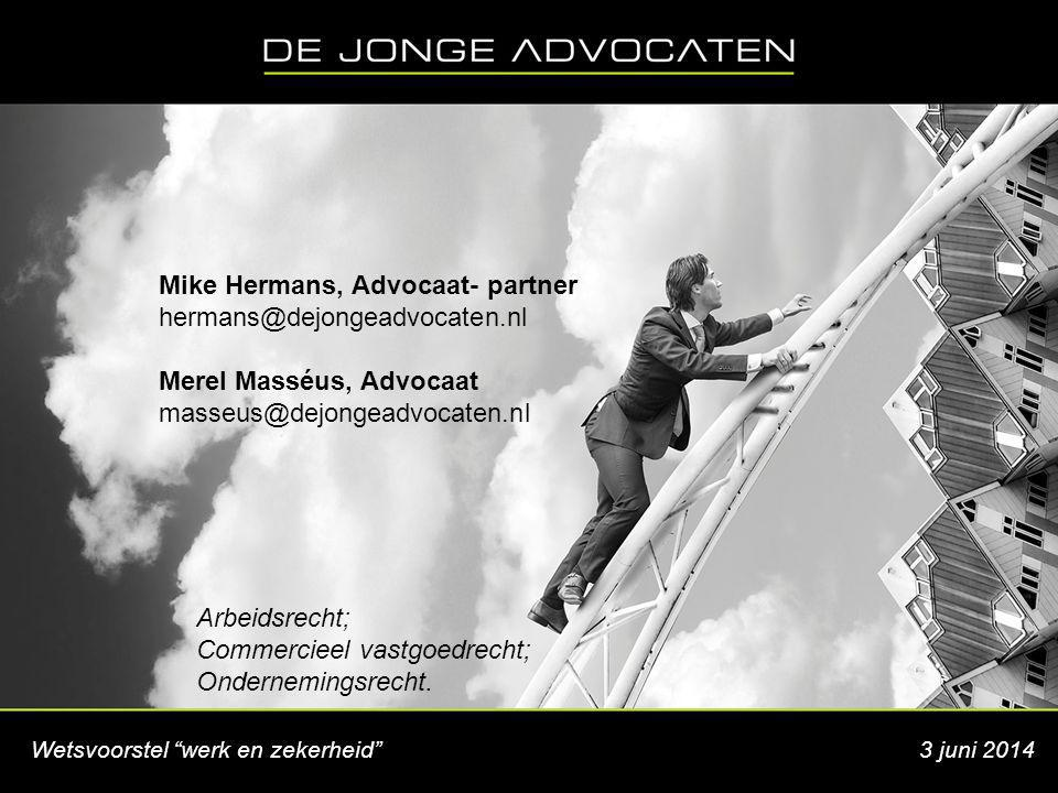Mike Hermans, Advocaat- partner hermans@dejongeadvocaten.nl