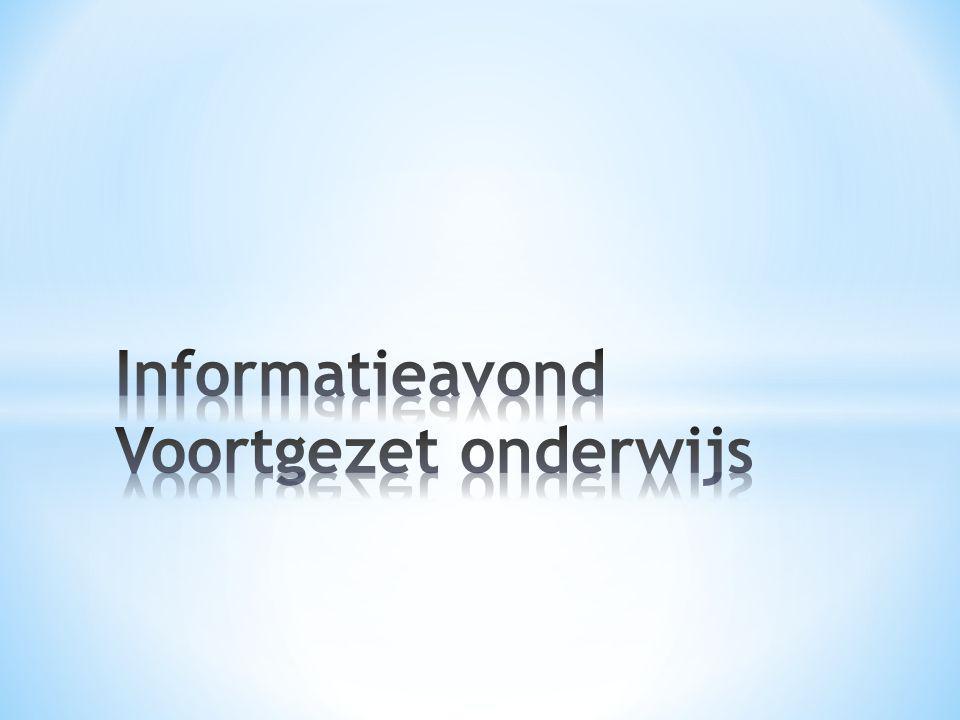 Informatieavond Voortgezet onderwijs