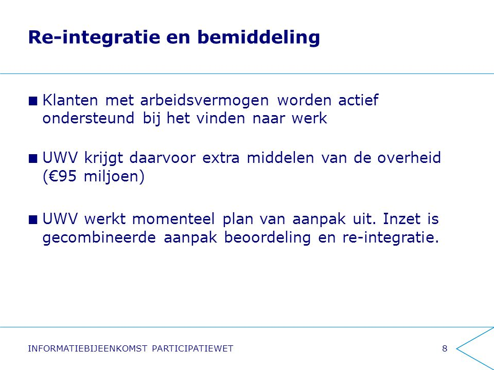 Re-integratie en bemiddeling