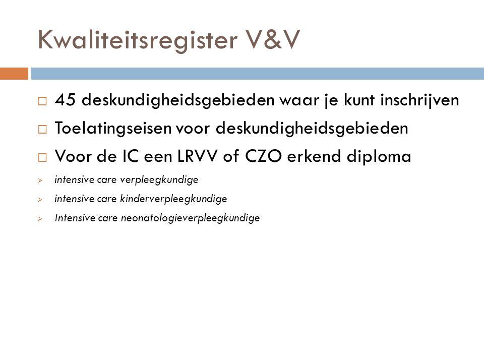 Kwaliteitsregister V&V