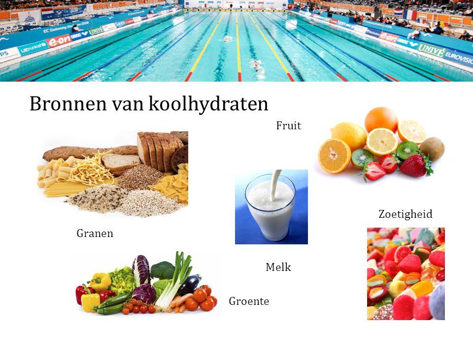 Bronnen van koolhydraten