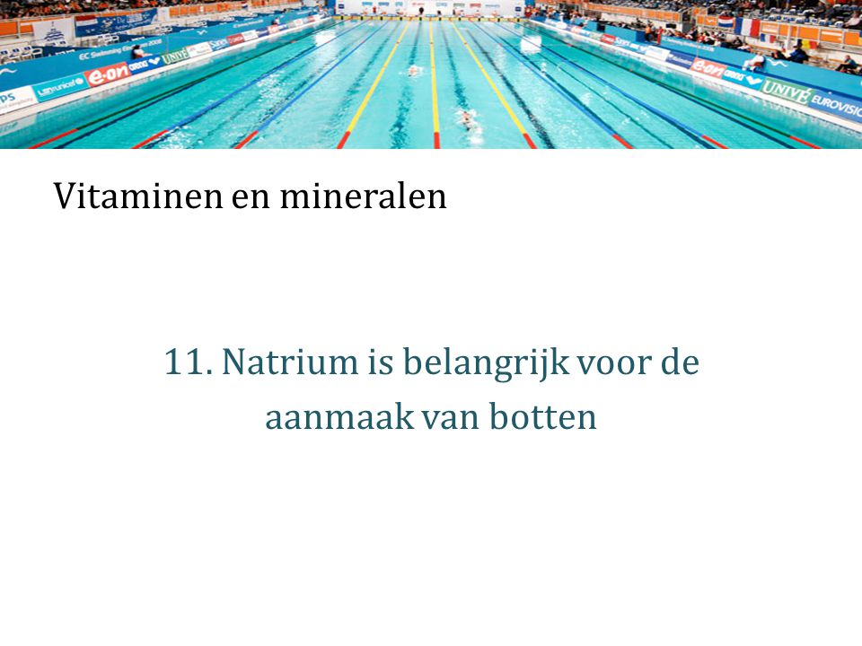 Vitaminen en mineralen 11