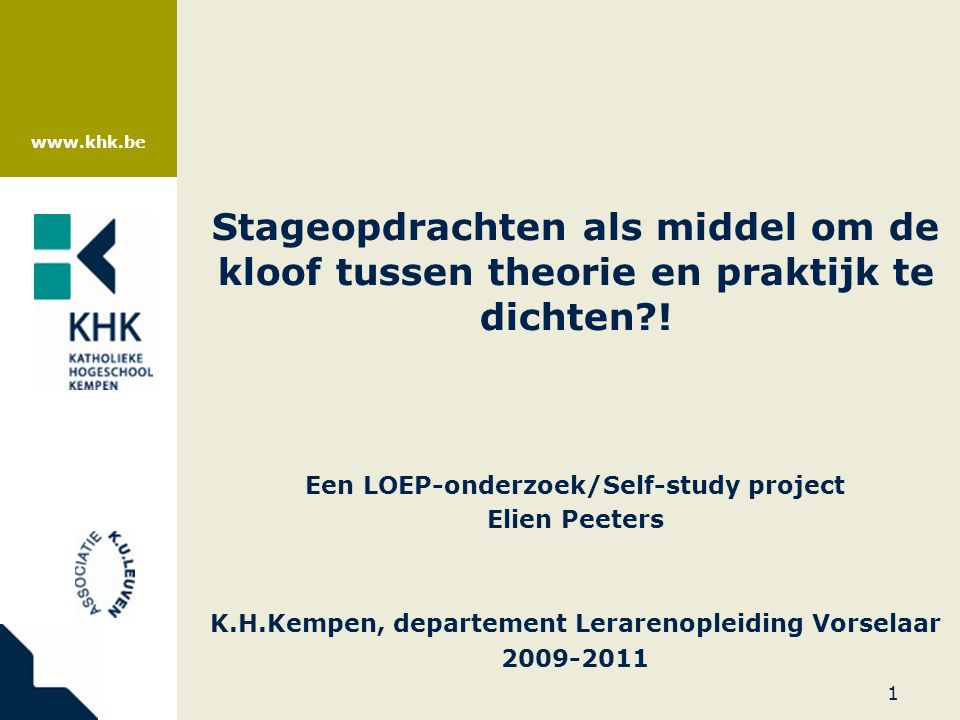 katholieke hogeschool kempen thesis Ingrid knippels of katholieke hogeschool kempen, geel khk read 8 publications, and contact ingrid knippels on researchgate, the professional network for scientists.