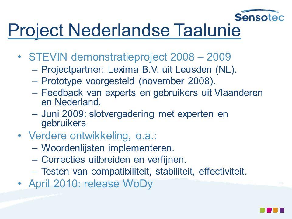 Project Nederlandse Taalunie