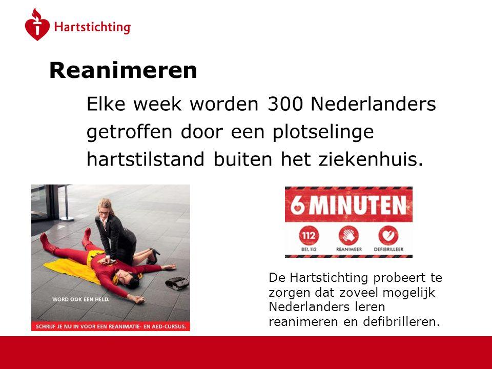 Reanimeren Elke week worden 300 Nederlanders
