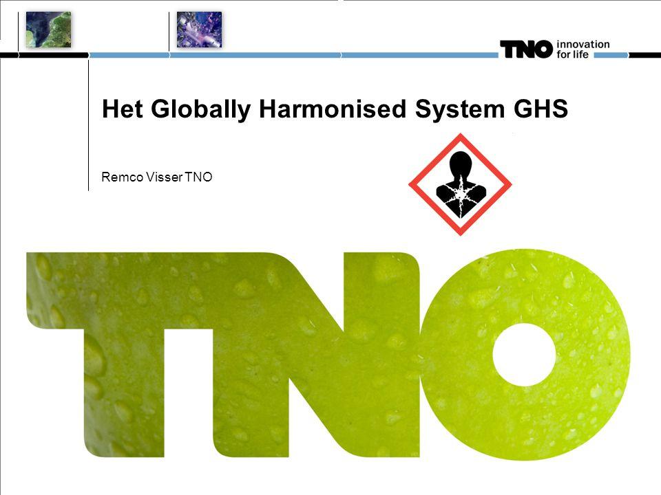Het Globally Harmonised System GHS