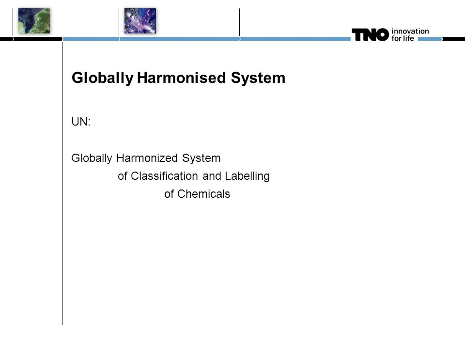 Globally Harmonised System