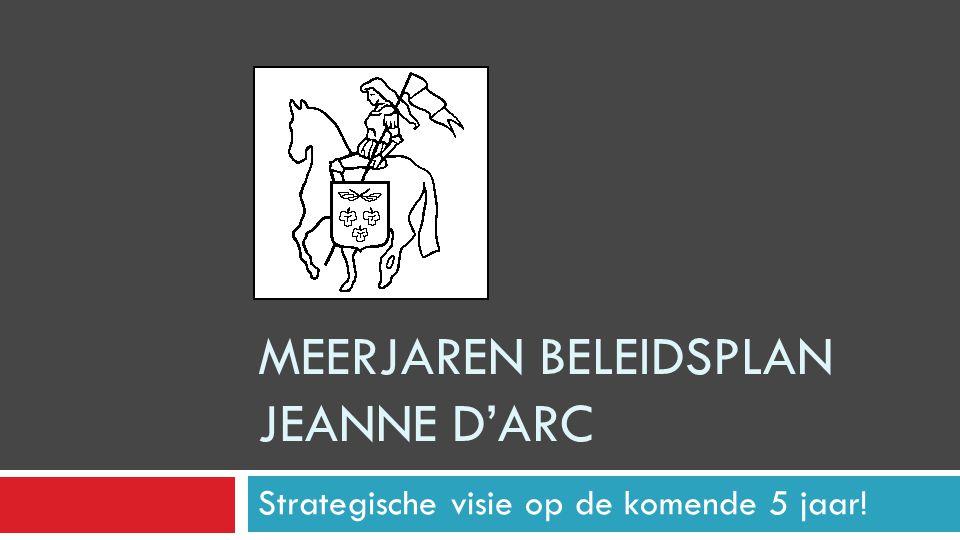 Meerjaren Beleidsplan Jeanne d'Arc
