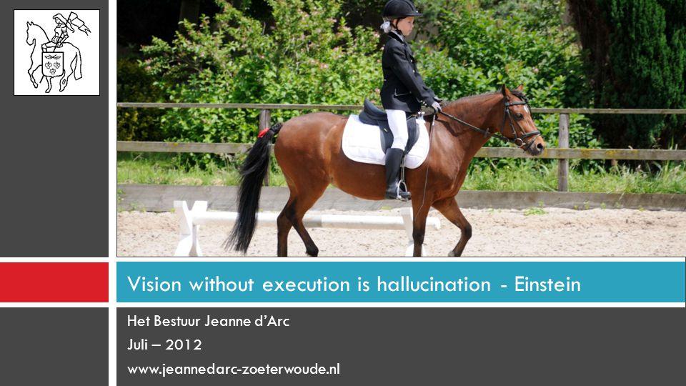 Vision without execution is hallucination - Einstein