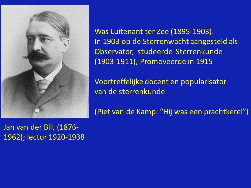 Was Luitenant ter Zee (1895-1903).