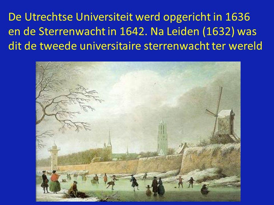 De Utrechtse Universiteit werd opgericht in 1636