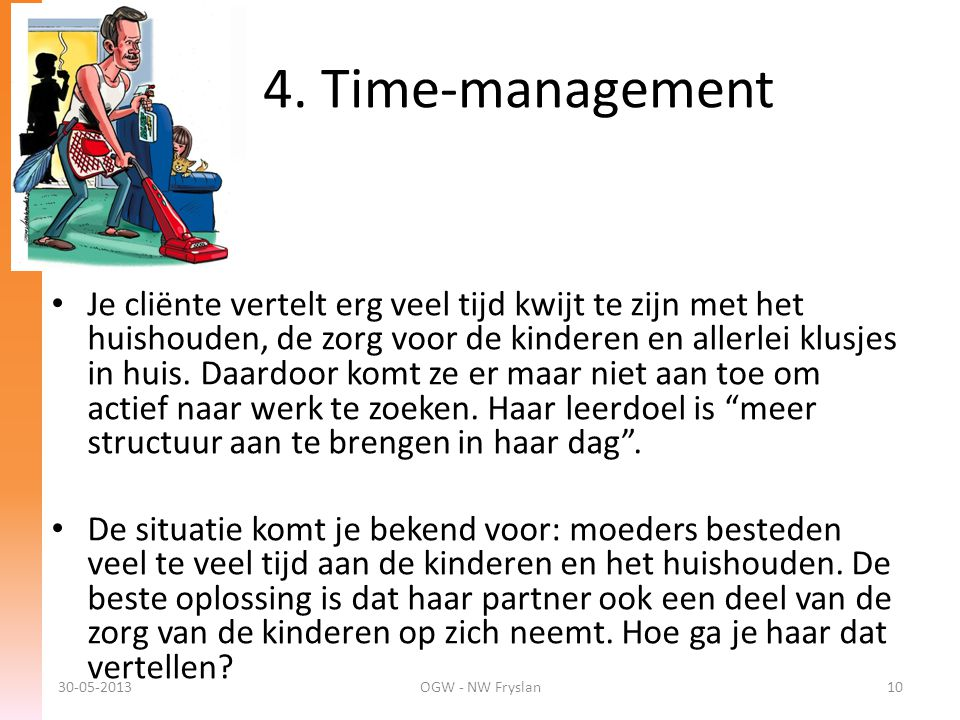 4. Time-management