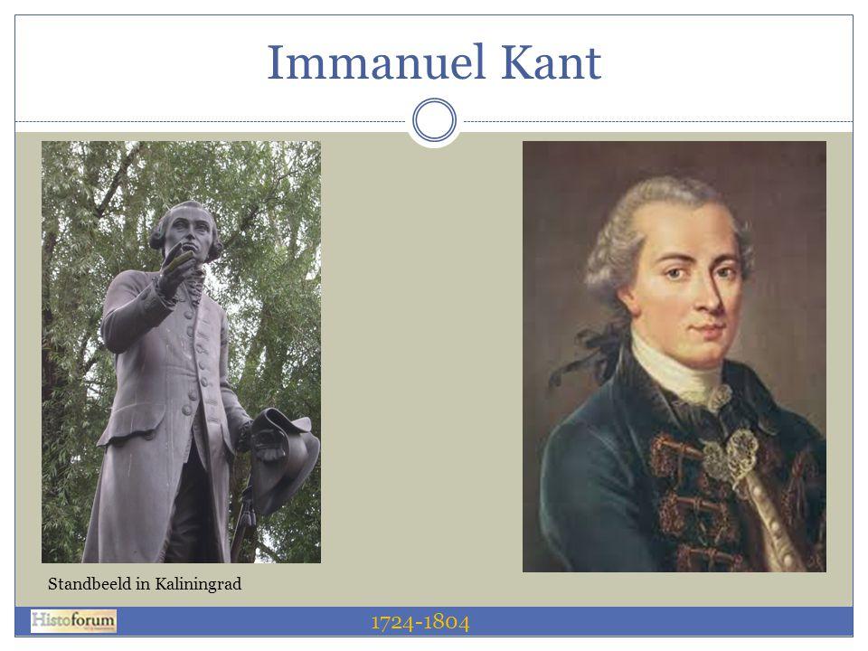 Immanuel Kant Standbeeld in Kaliningrad 1724-1804