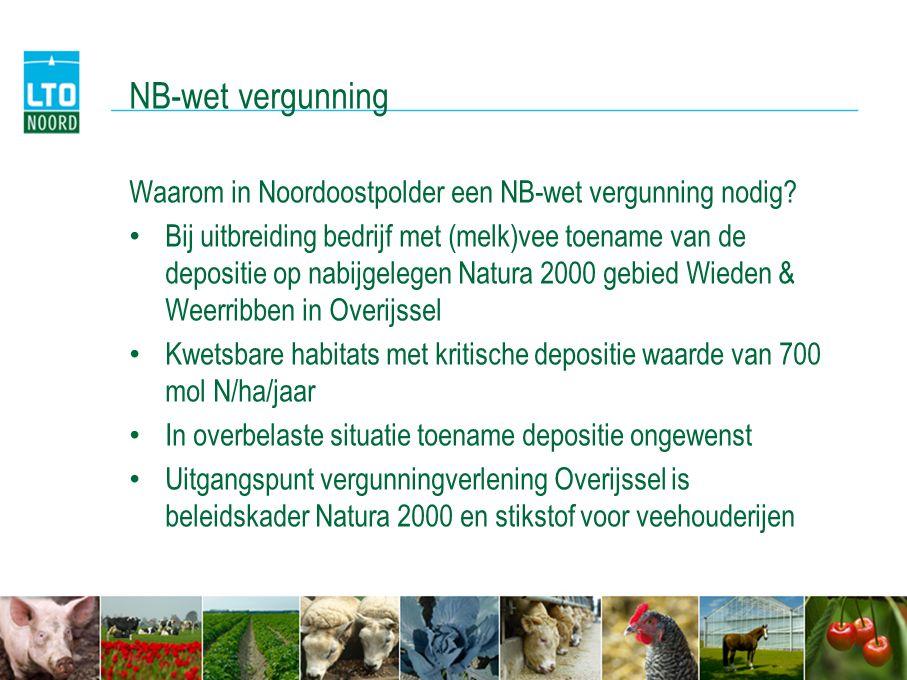 NB-wet vergunning Waarom in Noordoostpolder een NB-wet vergunning nodig