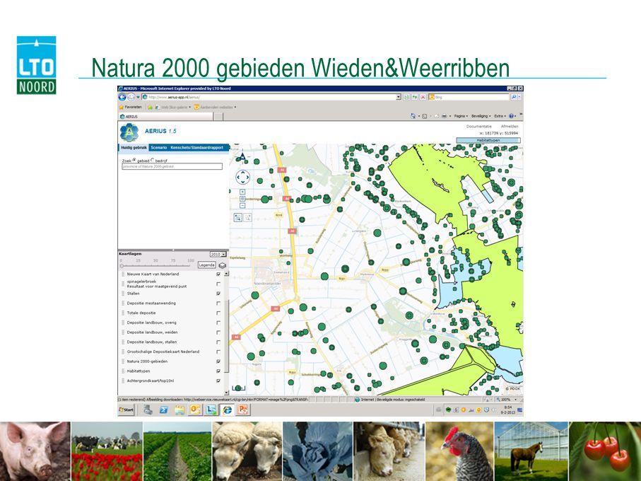 Natura 2000 gebieden Wieden&Weerribben