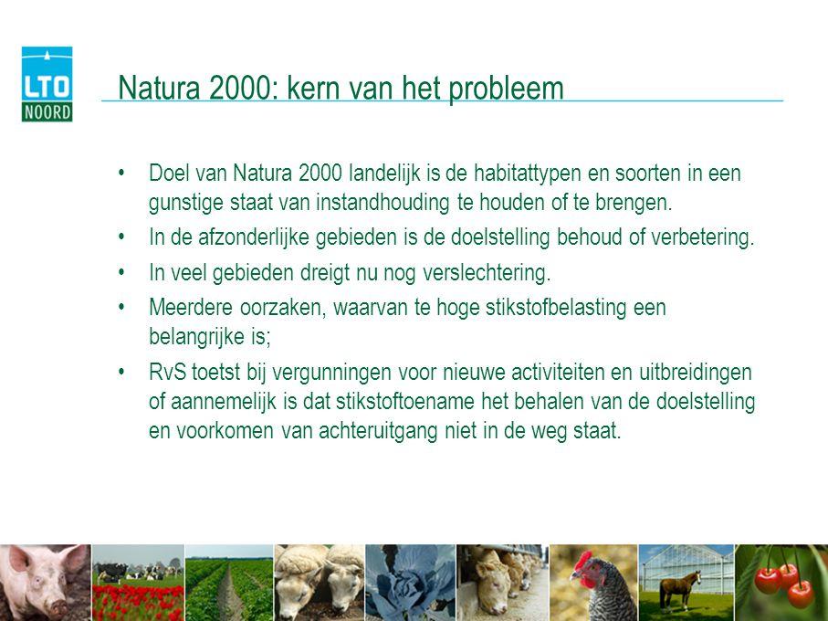 Natura 2000: kern van het probleem