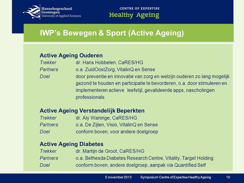 IWP's Bewegen & Sport (Active Ageing)