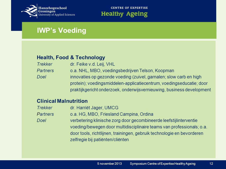 IWP's Voeding