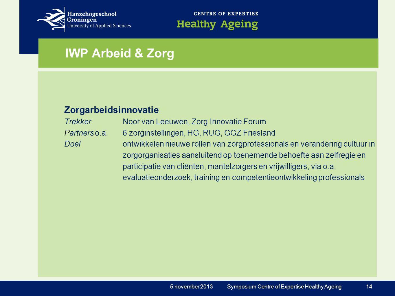 IWP Arbeid & Zorg