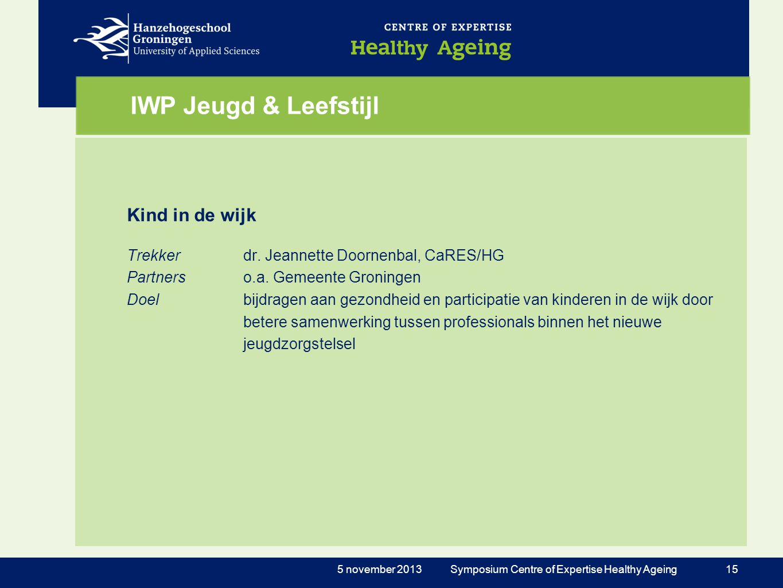 IWP Jeugd & Leefstijl Kind in de wijk