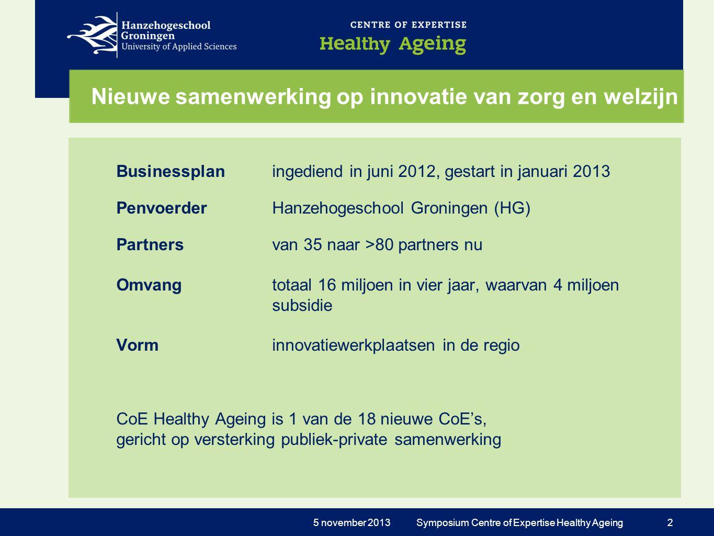Nieuwe samenwerking op innovatie van zorg en welzijn