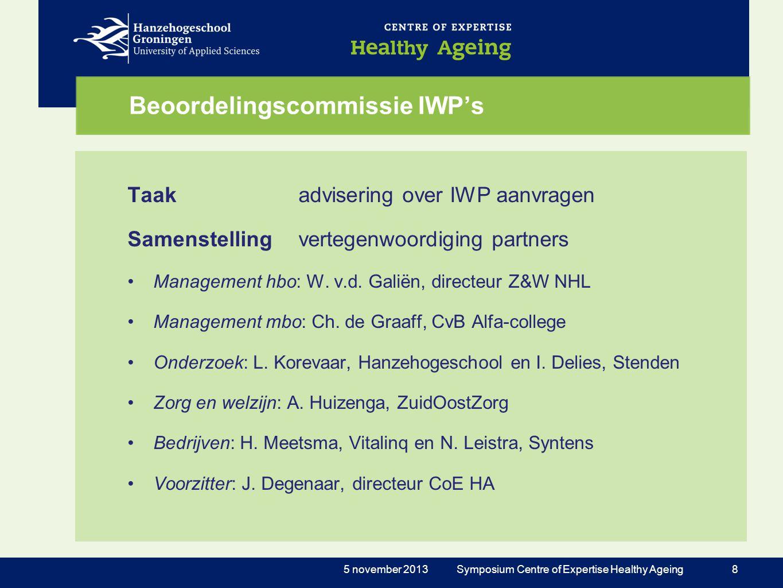 Beoordelingscommissie IWP's