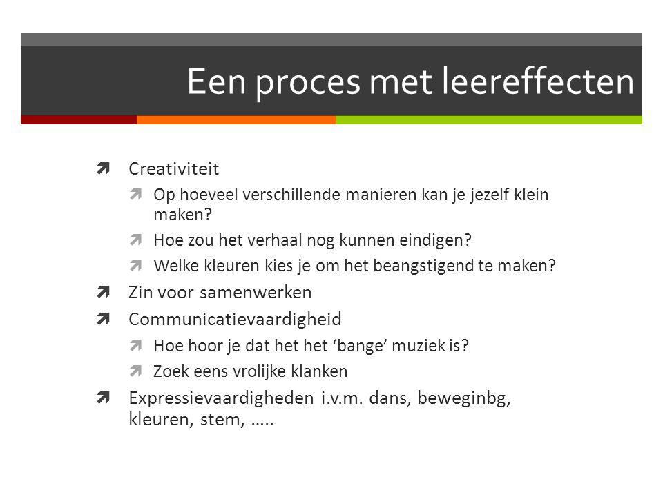 Een proces met leereffecten