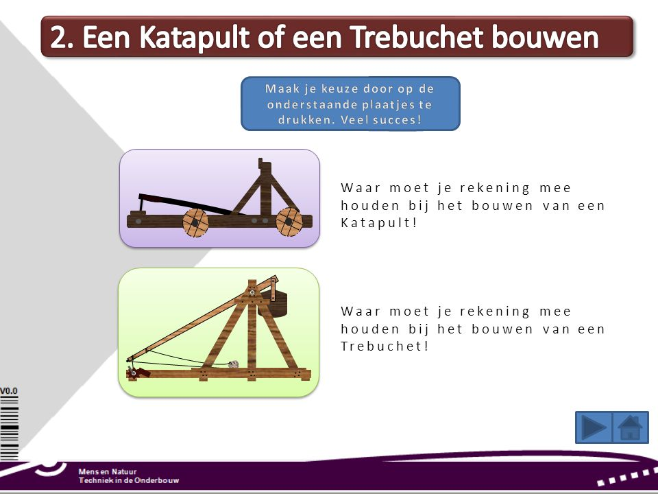 2. Een Katapult of een Trebuchet bouwen