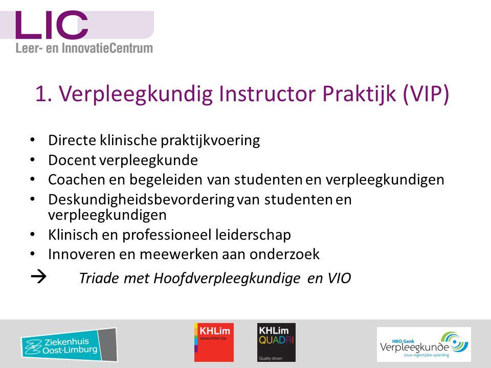 1. Verpleegkundig Instructor Praktijk (VIP)