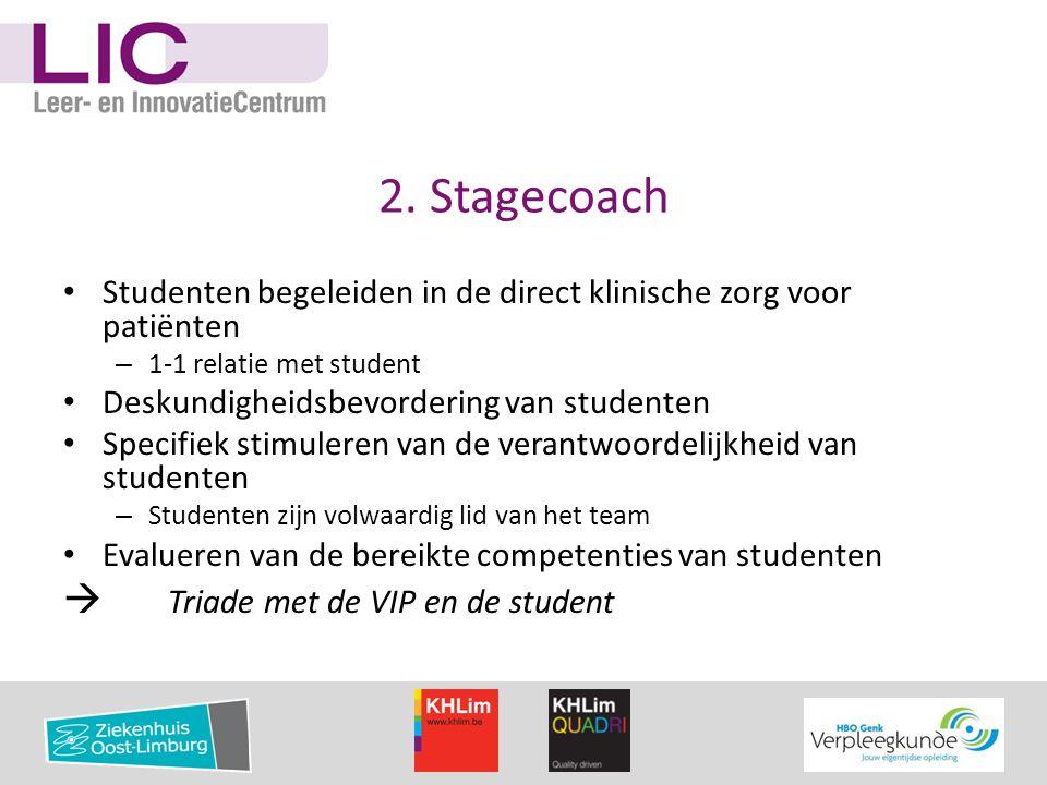 2. Stagecoach  Triade met de VIP en de student