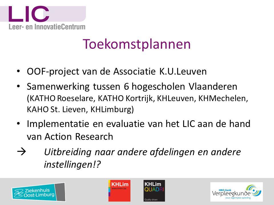 Toekomstplannen OOF-project van de Associatie K.U.Leuven