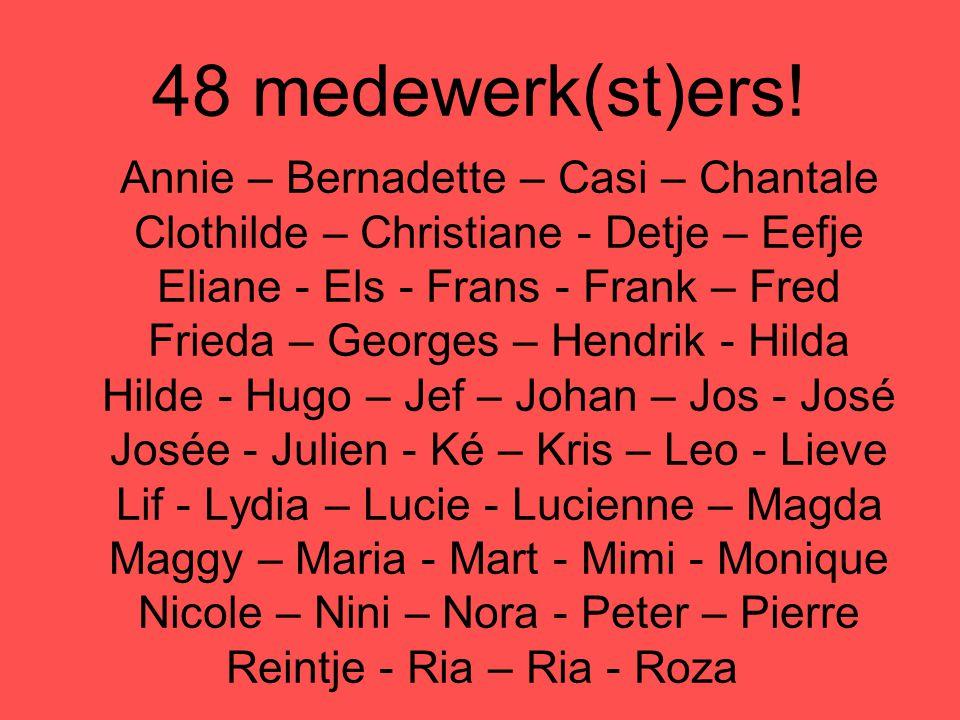 48 medewerk(st)ers!