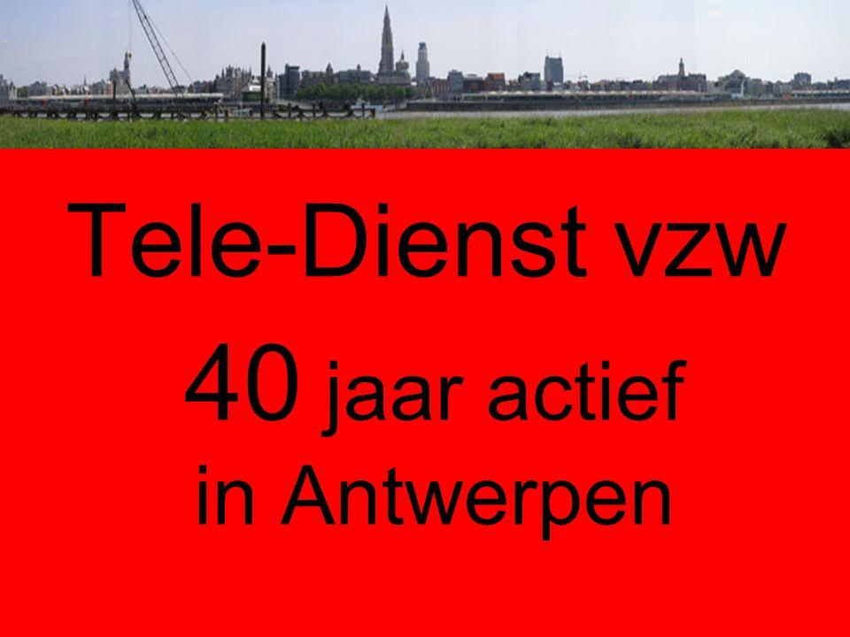 40 jaar actief in Antwerpen