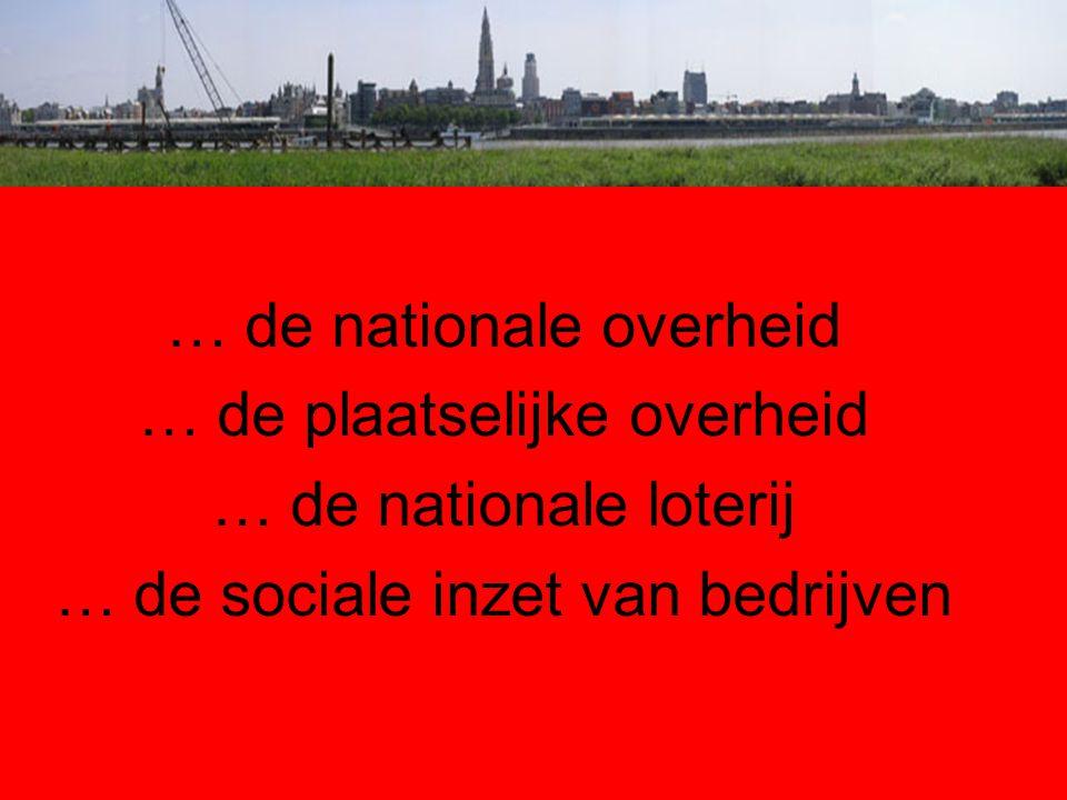 … de nationale overheid … de plaatselijke overheid