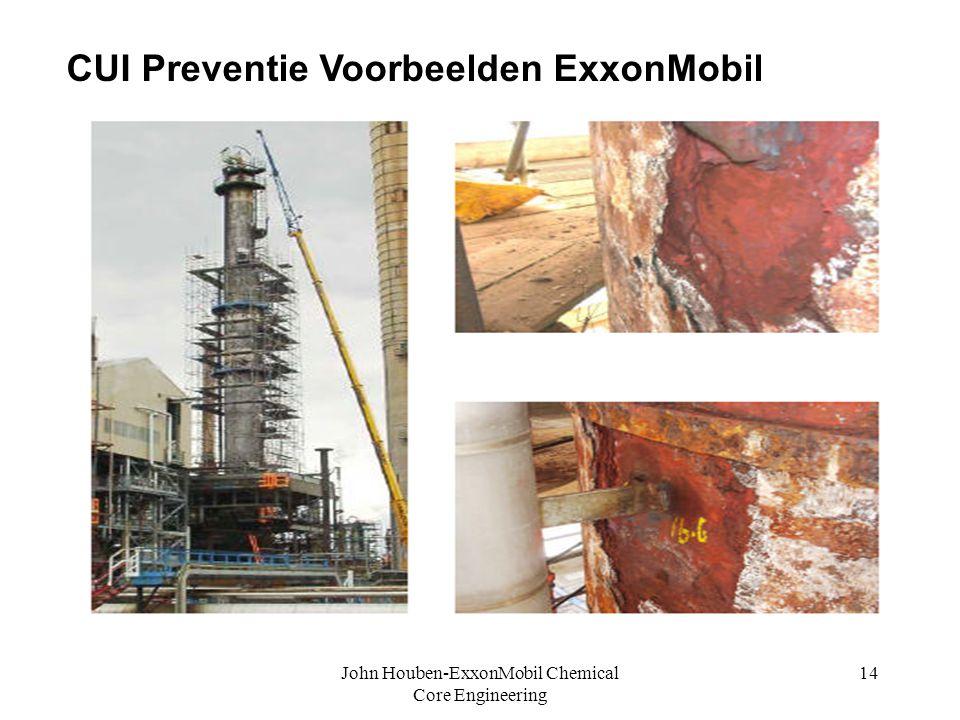 John Houben-ExxonMobil Chemical Core Engineering