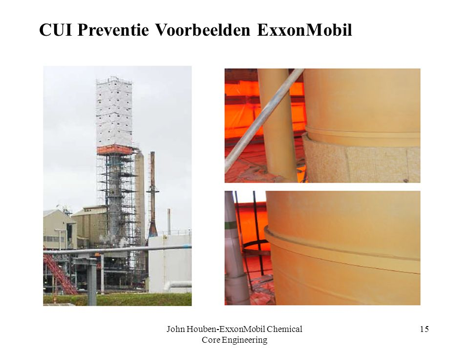 John Houben-ExxonMobil Chemical Core Engineering