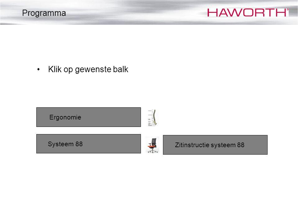 Zitinstructie systeem 88