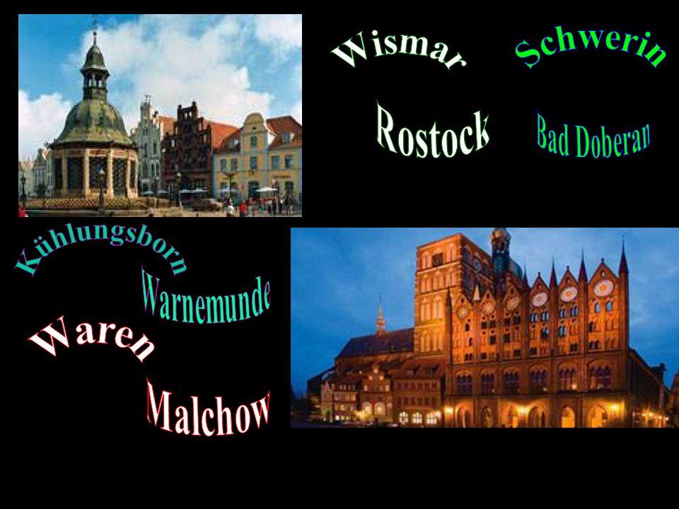 Schwerin Rostock Bad Doberan Kühlungsborn Warnemunde Malchow