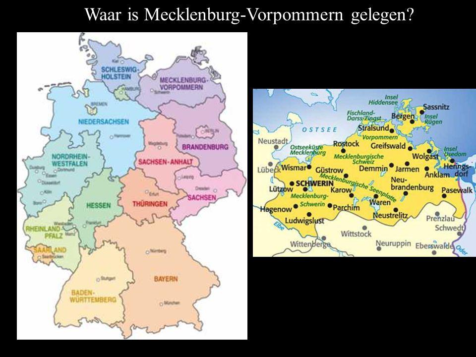 Waar is Mecklenburg-Vorpommern gelegen
