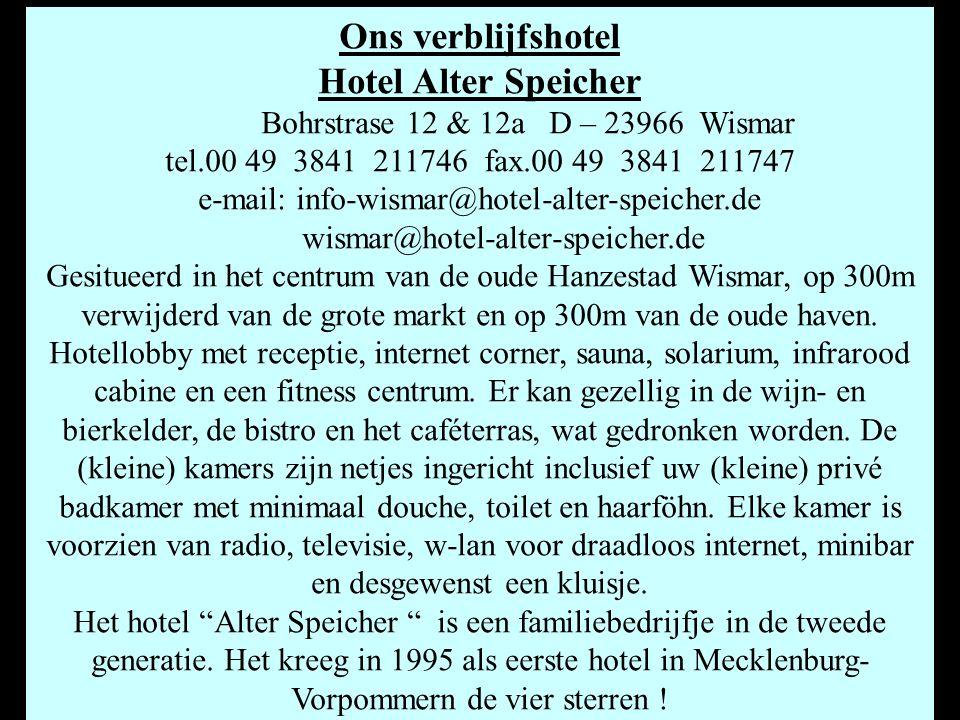 e-mail: info-wismar@hotel-alter-speicher.de