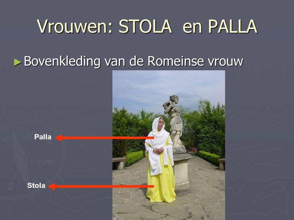 Vrouwen: STOLA en PALLA