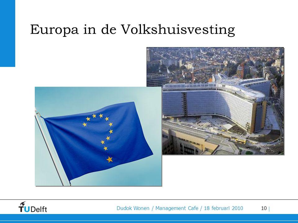 Europa in de Volkshuisvesting