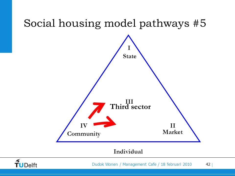 Social housing model pathways #5