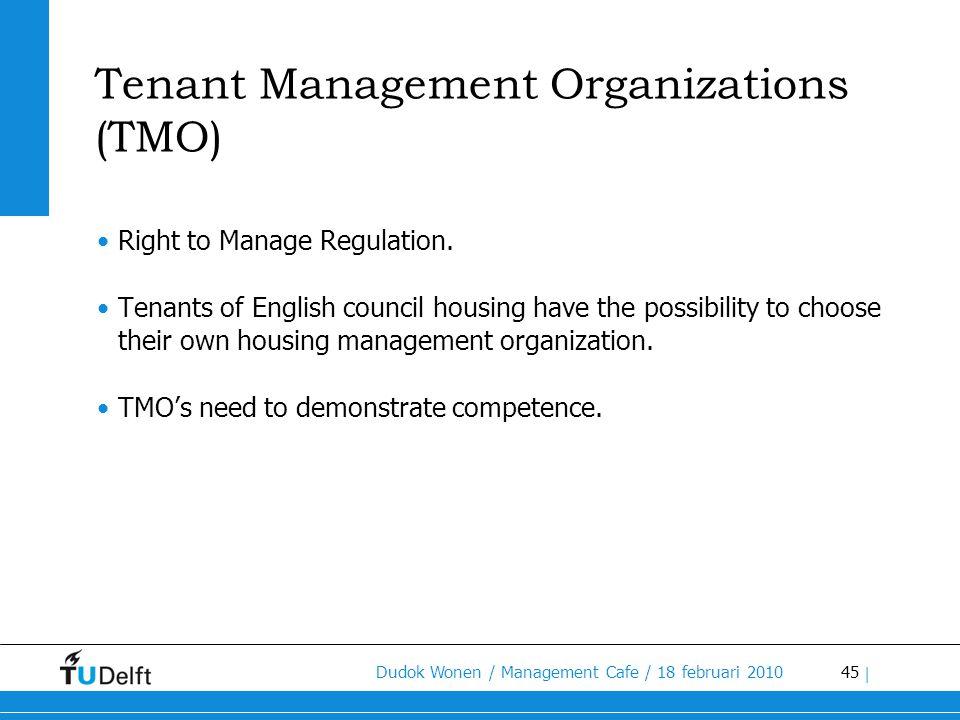 Tenant Management Organizations (TMO)