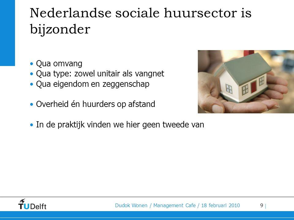 Nederlandse sociale huursector is bijzonder