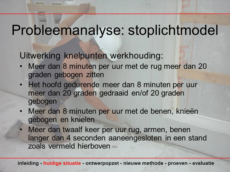 Probleemanalyse: stoplichtmodel