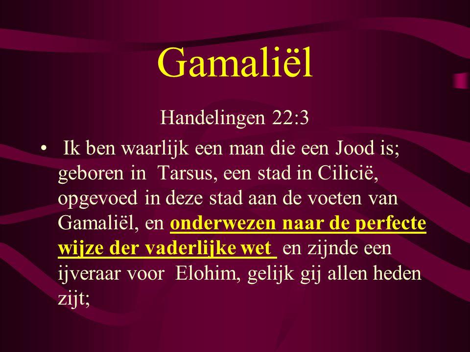 Gamaliël Handelingen 22:3